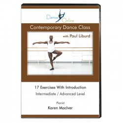 Contemporary Dance Class with Paul Liburd - DVD