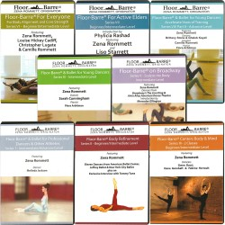 Zena Rommett Floor Barre DVD Sets