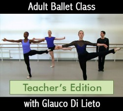 Glauco Di Lieto Adult Ballet Class Teachers - Downloadable