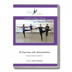 Glauco Di Lieto Adult Ballet Class - DVD Front