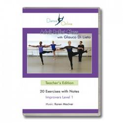 Glauco Di Lieto Adult Ballet Class Teachers - DVD Front