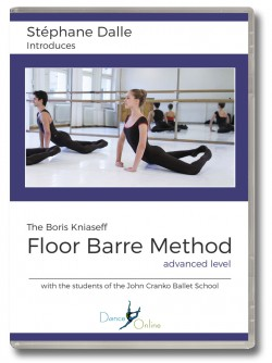 Stephane Dalle's Floor Barre DVD - Advanced