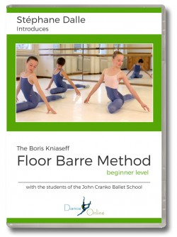 Stephane Dalle's Floor Barre DVD - Beginner