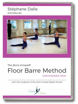 Stephane Dalle's Floor Barre DVD - Intermediate