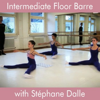 Floor Barre with Stéphane Dalle, Intermediate Level - Downloadable Video