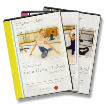 Stephane Dalle's Floor Barre DVD Set
