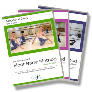 Stephane Dalle's Floor Barre DVD Set