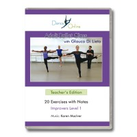 Adult Ballet Class with Glauco Di Lieto - Teacher's Edition DVD
