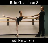 Ballet Class Level 2 with Marco Ferrini - Downloadable video