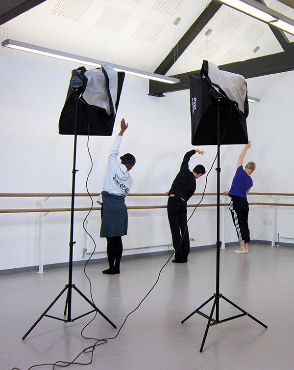 Dance class video production