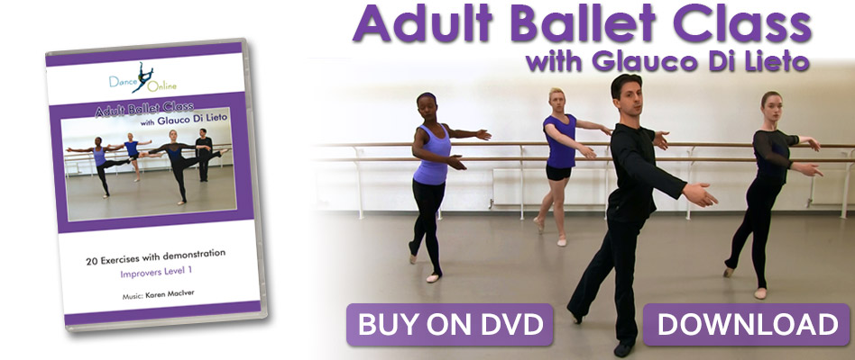 Adult Ballet Class with Glauco Di Lieto